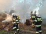 26.03.2017r. Pożar słomy w Przelewicach
